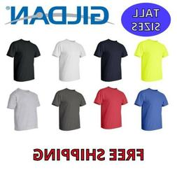Gildan Mens Tall T-Shirt Sizes: XLT - 3XLT 100% Ultra Cotton