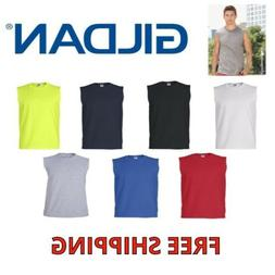 GILDAN MENS TANK TOP 2700 ULTRA COTTON MUSCLE SLEEVELESS TEE