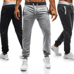 Mens Training Fitness Sweat Pants Gym Sports Activewear Casu