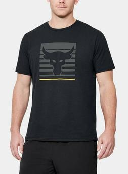 Under Armour Mens UA Project Rock Brahma Bull Vanish T-Shirt