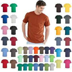 Gildan Mens Ultra Cotton T-Shirt Short Sleeve Unisex Tee S-5