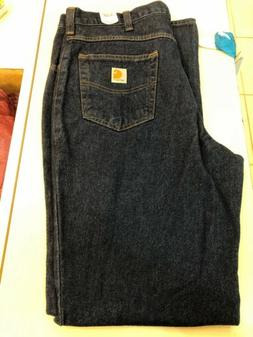 Carhartt Men's  Uniforms Work Clothes Relaxed Fit Jeans 36