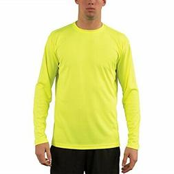 Vapor Apparel Mens UPF Long Sleeve Solar Performance T Shirt