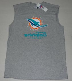 MIAMI DOLPHINS NFL TEAM APPAREL MUSCLE T SHIRT TANK TOP MENS