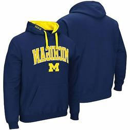 Michigan Wolverines Colosseum Big & Tall Arch & Logo 2.0 Pul