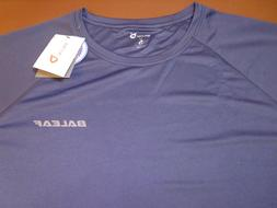 Baleaf Navy Blue 2XL Polyester Athletic Workout Shirt New Wi