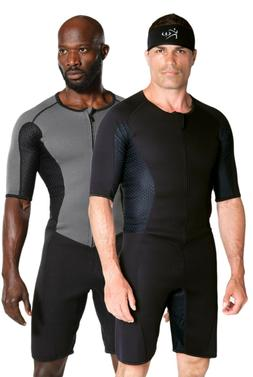 Kutting Weight Neoprene Weight Loss One-piece Men's Sauna Su