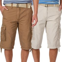 9a0153fc5c New Unionbay Men Cordova Messenger Belted Cargo Shorts 15-in