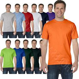 Hanes Mens 100% Cotton T-Shirt Tagless Heavyweight ComfortSo