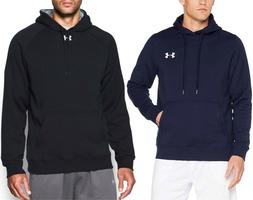 NEW Under Armour Mens Athletic Apparel Rival Fleece Fitted H
