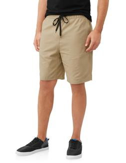 NEW Mens Cherokee Khaki Tan Ripstop Drawstring Shorts Size L