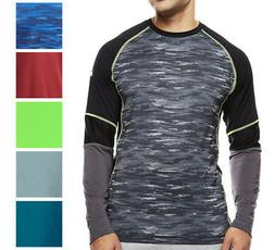 Asics NEW Mens Long Sleeve Performance Athletic Apparel Shir