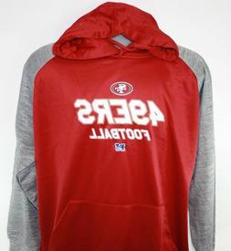 NEW Mens NFL Team Apparel San Francisco 49ers Poly Fleece Fo