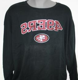 NEW Mens NFL Team Apparel San Francisco 49'ers Long Sleeve B