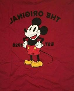 VANS New Mickey's 90TH Classic Mickey T-Shirt Size Men's Med