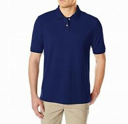 Amazon Essentials NEW Navy Blue Mens Size 2XL Solid Pique Po