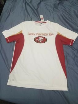 *NEW*NFL Team Apparel San Francisco 49ers  Drywick Shirt Men