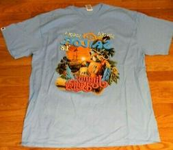 NEW/NO TAGS JIMMY BUFFETT  DOUBLE-SIDED 2018 CONCERT TOUR T-