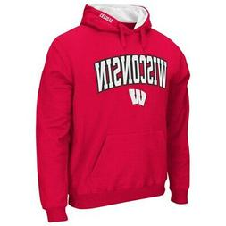 New Other Colosseum Wisconsin Badgers Men Tackle Twill Pullo