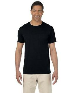 NEW Gildan T-Shirt Tee Men's Short Sleeve SoftStyle Ringspun