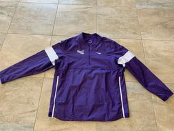 NEW Nike Team Apparel Clemson Tigers Windbreaker Pullover Ba