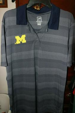 NEW University of Michigan Wolverines Knights Apparel ProEdg