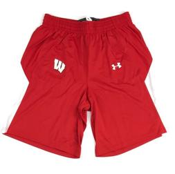 New Under Armour Wisconsin Badgers Stock Fury Basketball Sho