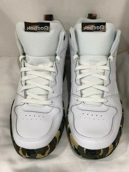 New With Tags Mens Reebok Royal HI2 Leather Hi Tops White Ca