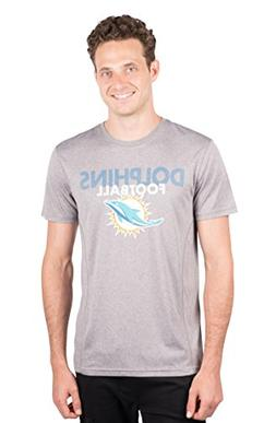 NFL Miami Dolphins Men's T-Shirt Athletic Quick Dry Active T
