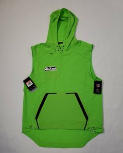Nike NFL Seattle Seahawks Men's Vest Jacket MSRP $150 On Fie