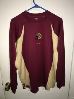 NWOT Men's Nike Team Apparel Florida State FSU Long Sleeve