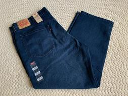 NWT Men's Levi's 559 Relaxed Straight Leg Dark Blue Stretch