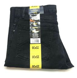 NWT Urban Star Men's Relaxed Fit Straight Leg Jeans Black, S