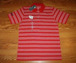 nwt mens knights apparel wisconsin red white