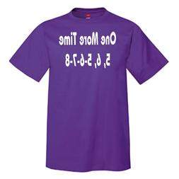 One More Time 5, 6, 5-6-7-8 Men's T-Shirt --- Marching Band