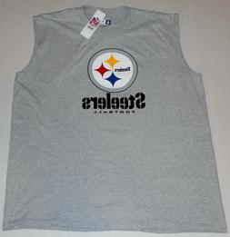 PITTSBURGH STEELERS NFL TEAM APPAREL MUSCLE T SHIRT TANK TOP