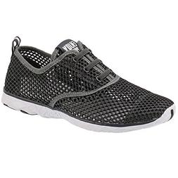 ALEADER Men's Quick Drying Aqua Water Shoes Darkgray 8.5 D U
