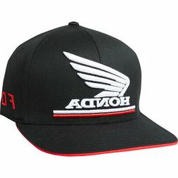 Fox Racing Men's Fox Honda Flexfit Hat Black Headwear Appare