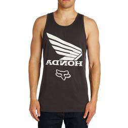 Fox Racing x Honda Men's Honda Premium Tank Top Shirt Black