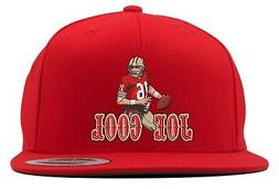 Red Joe Montana San Francisco 49ers Joe Cool Goat Snapback H