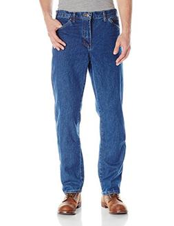 Dickies Men's Regular Fit 5-Pocket Jean,Stone Washed Indigo