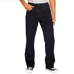 Urban Star Men's Relaxed Fit Straight Leg Jeans