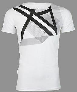 Armani Exchange RIGHT SIDE UP Mens Designer T-SHIRT Premium