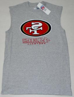 SAN FRANCISCO 49ers NFL TEAM APPAREL MUSCLE T SHIRT TANK TOP