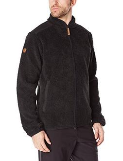 Fjallraven Men's Sarek Zip Sweater, Dark Grey, XX-Large