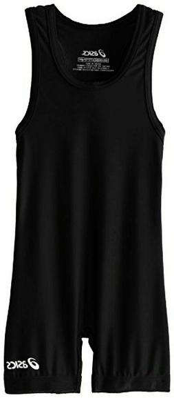 ASICS Sports Apparel Mens Solid Modified Singlet Black Size