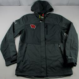 Under Armour Storm2 Wisconsin Badgers ColdGear Softshell Hoo