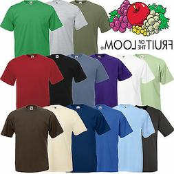 FRUIT OF THE LOOM STYLE BLANK T-SHIRT - quality branded mens