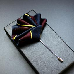 Suit Shirt Pins and Brooches Wedding Party Jewelry For Men C