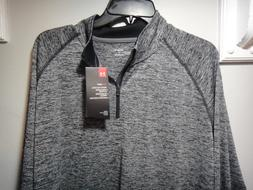 Under Armour Men's UA Tech 1/4 Zip, Black /Graphite, Large